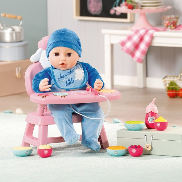 Baby Annabell Lunch Time Table | Baby Annabell